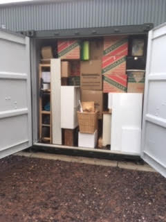 Using your self storage space effectively